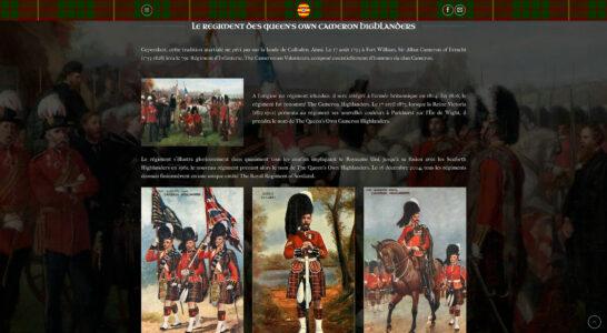 Le site internet du Clan Cameron France