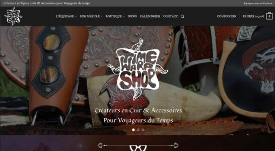 Le site de Time Warp Shop