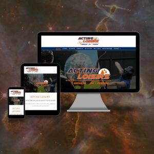 site en responsive design - Acting Loisirs