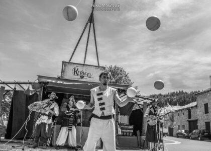 Photographie évènementiel - Musique & art de rue - Cie Kervan