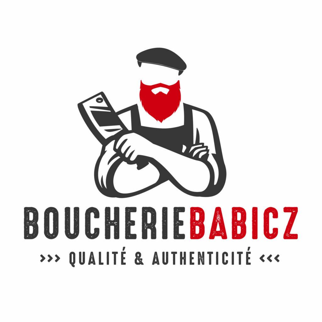 création de logo : Boucherie babicz