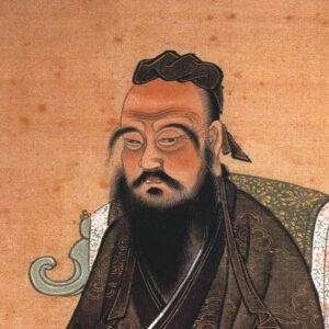 Portrait - Confucius