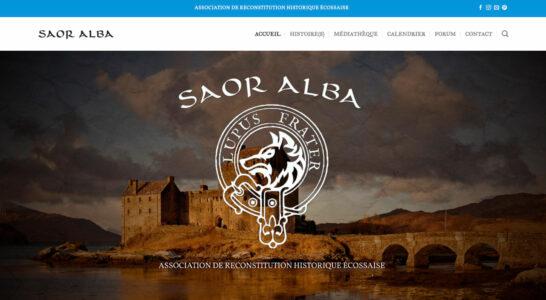 Le site de l'association Saor Alba